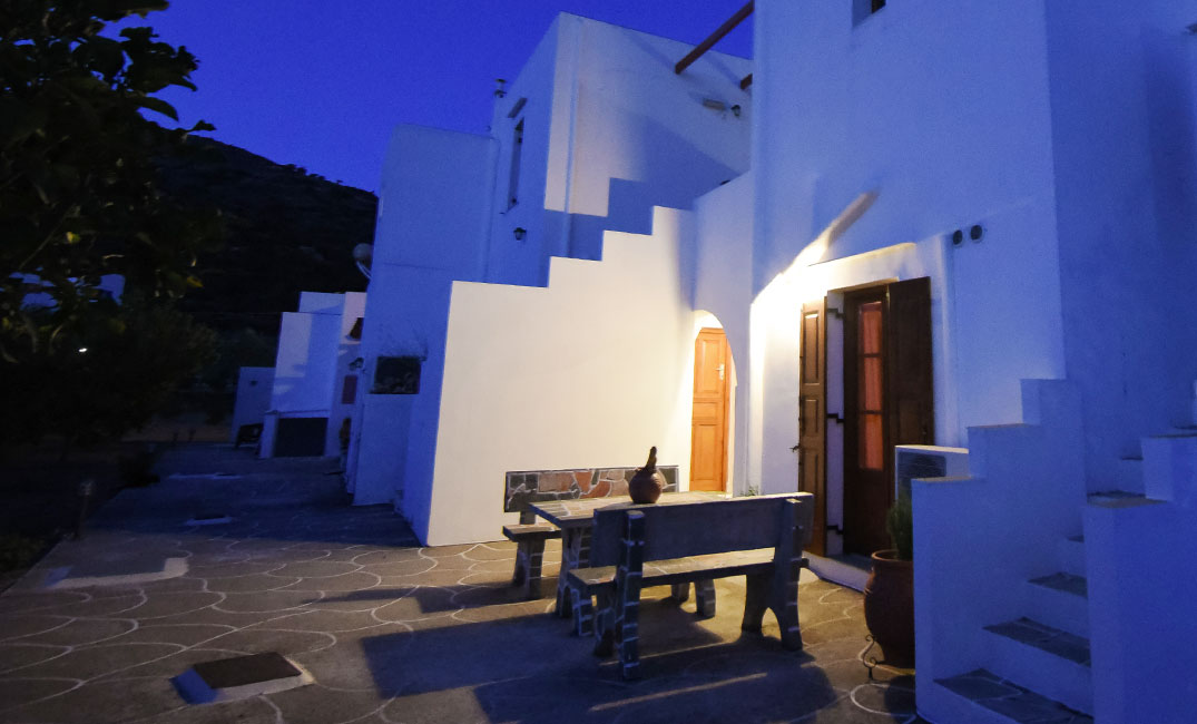 The Blue Fish accommodation in Sifnos